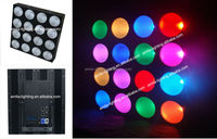 LED COB 15W RGB 4X4 AUDIENCE MATRIX STAGE BLINDER LIGHT LED PANEL PIXEL LED PANEL AUDIENCE LIGHT