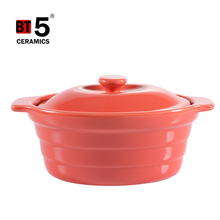 Healthy soup pot mini cocotte oval ceramic casseroles with lid