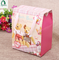 Wedding gift recycled shopping paper bag for candies