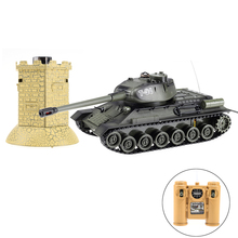 Newest good quality 1/28 scale infrared battle rc tanks with bunker