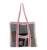 hot fashion large mesh beach tote bag