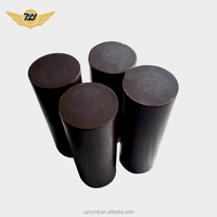 PTFE + Carbon Black Rod Extruded Bar Price Teflon Molded rod