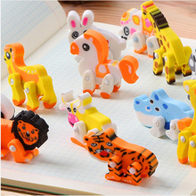 Funny custom cute animal shape eraser