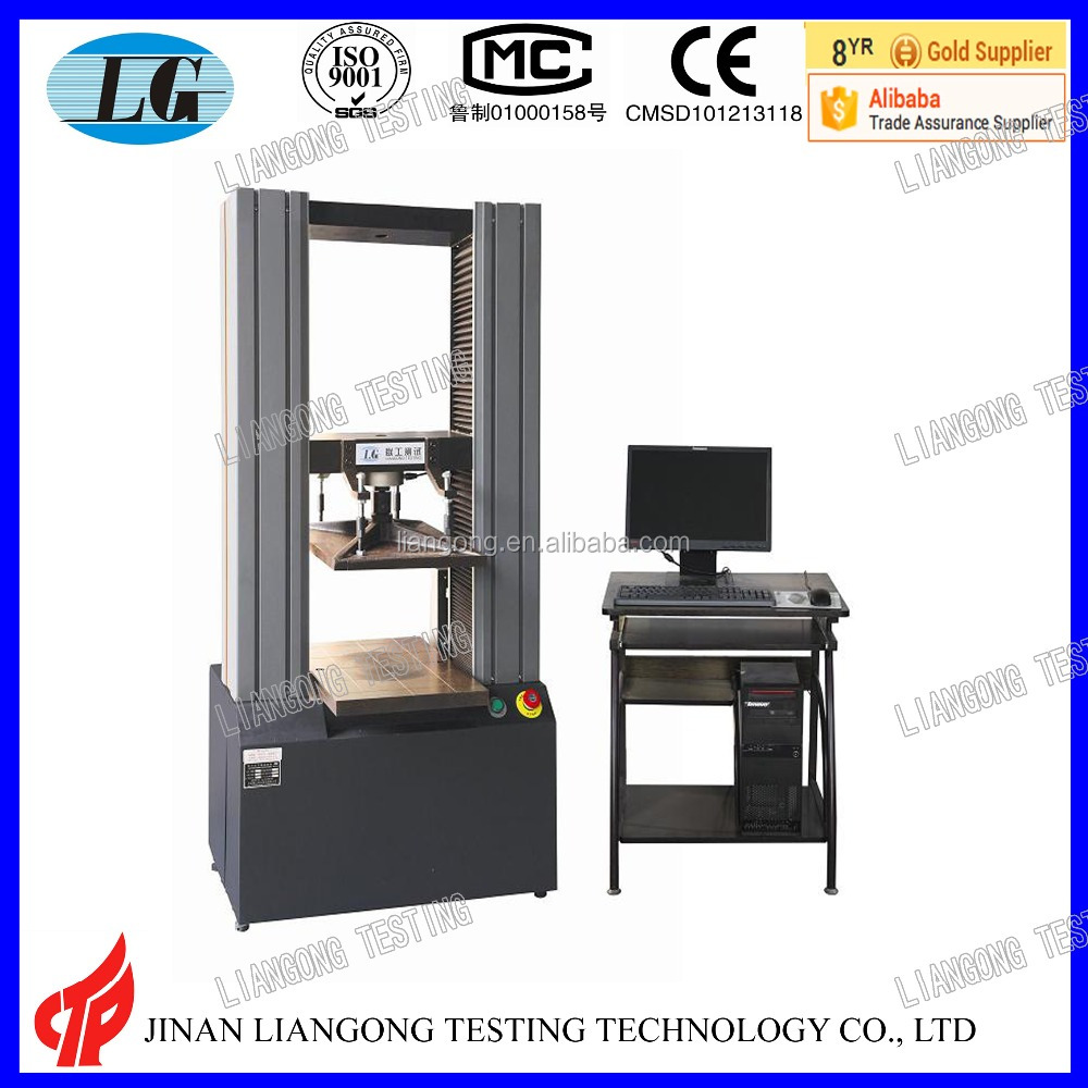 universal compression testing machine usage carton/package box compressive strength test