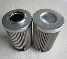 10 micron high pressure stainless steel wire mesh HYDAC oil filter cartridge export to Russia Federation0080ma010p