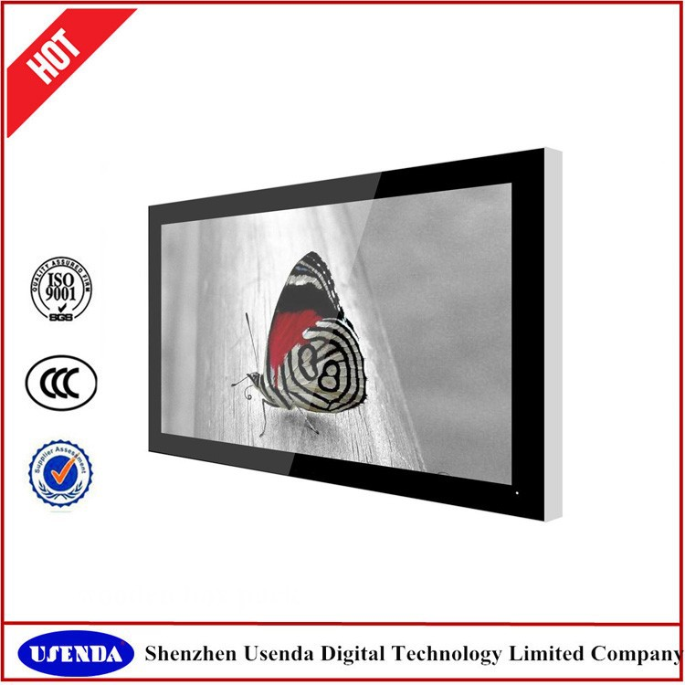 55 inch cheap HD touch wifi network hotel media panel