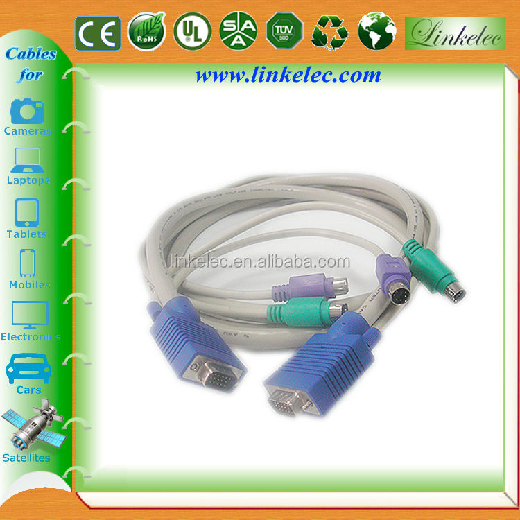 2M Multi-Functional KVM Extender Cable