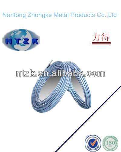 PVC Coated electro galvanized steel wire rope 6*37+FC, Provide free sample