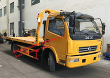 Dongfeng 120HP -140HP Flatbed Wrecker, 2Tons to 5Tons Tow Trucks, Wrecker Tow Truck For Sale