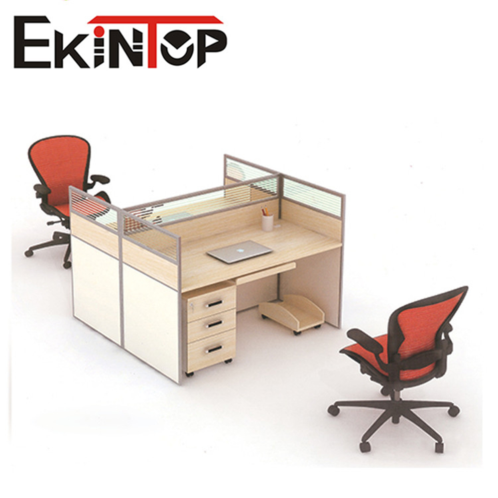 Office desk Wooden design modular standard size cubicle office partition