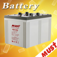 MUST Sealed Lead Acid Rechargeable UPS Battery 2V 2000AH