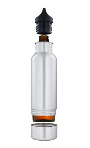 Stainless Steel Bottle cover / stainless steel Keeper Beer / Stainless Steel Keeper