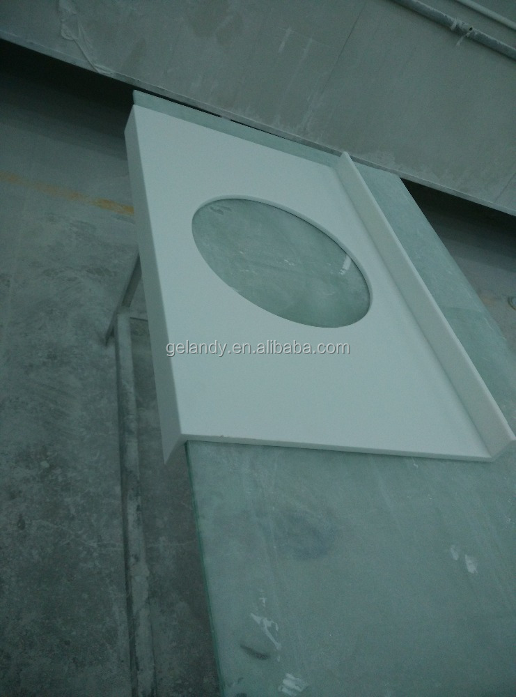Acrylic Thermoform Solid Surface Prefabricated Countertop
