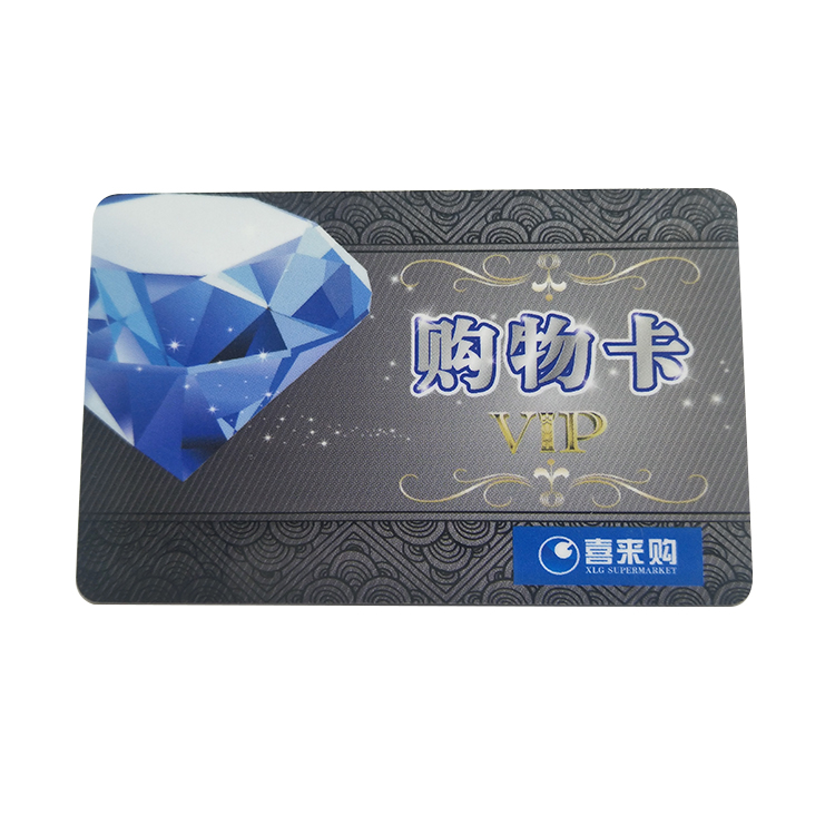 High Quality Embossing CR80 Plastic Membership VIP Card