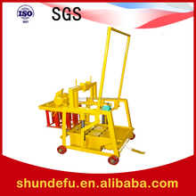 Small Type QMR2-45 Movable Manual Concrete Earth Block Machine/Hollow and Standard Block Cutting Machine