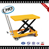 Hydraulic lift table with roller