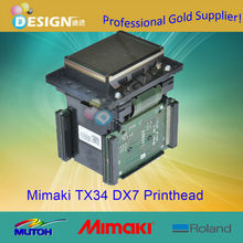 Solvent Original DX7 Printer head for mimaki tx34 printhead