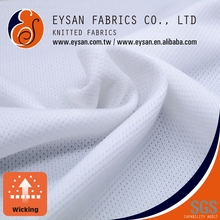 EYSAN Wicking 100 Polyester Functional Knitted Sport Mesh Fabric