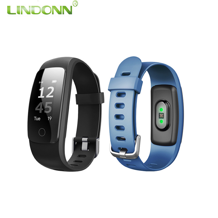 ID107 Plus Heart Rate Monitor CE RoHS Pedometer Muti-function Fitness Tracking Bluetooth Cicret Smart Bracelet