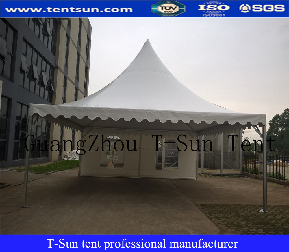 Luxury aluminum frame small 5x5m trade show booth tent