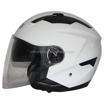HLS / ZPF Brand,Safety Protection Half face helmet with double Visor,Sun Visor helmet with good quality,ECE Certification