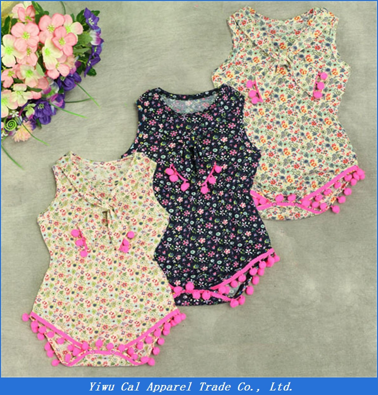 baby romper summer pajamas organic cotton infant floral rompers running baby sleeveless body suit rompers
