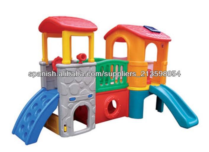 Ni os casa zona infantil de juegos tobog n de pl stico for Casas de plastico para ninos