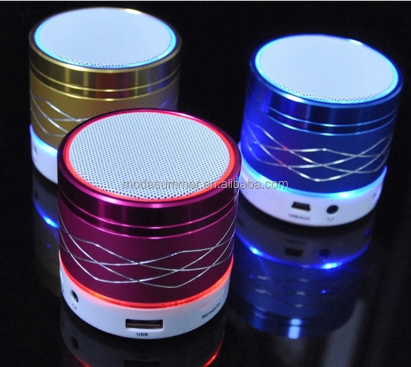 bluetooth speaker with led light, portable bluetooth speaker with fm radio,doss wireless bluetooth speaker