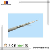 best sales competitive price OEM available,CE,ROSH,UL approved RG6 Quad Shield Coaxial Cable