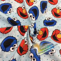 Digital Printed 100 Cotton Knitted Textile
