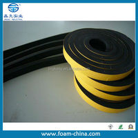 New product shanghai made products NBR black adhesive Foam tape apply in Auto, door sealing, air conditioner,pipe, electronics