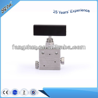 High quality 20,000 psi high pressure stainless steel needle valve