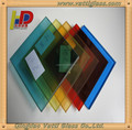 6mm red, green, blue, yellow, brown color laminated safety glass with AS/NZS 2208 & CCC & ISO9001 certifications