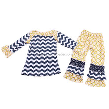 yawoo bangkok manufactures children clothes chevron fabric clothing manufacturers turkey style baby toddler clothing outfits set