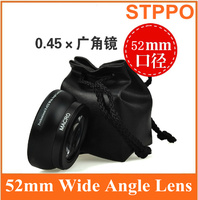 Stppo 52mm 0.45X Wide-Angle Lens FOR Panasonic Lumix Dmc FZ200 FZ62 FZ60 Camera