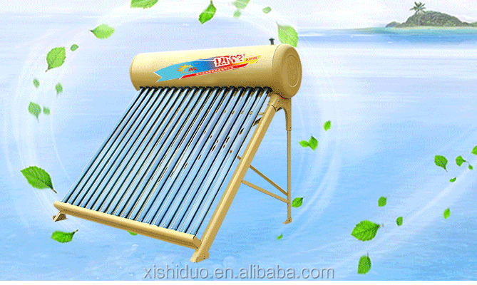 Rooftop pecfect 200 liter non-pressurized solar water heater