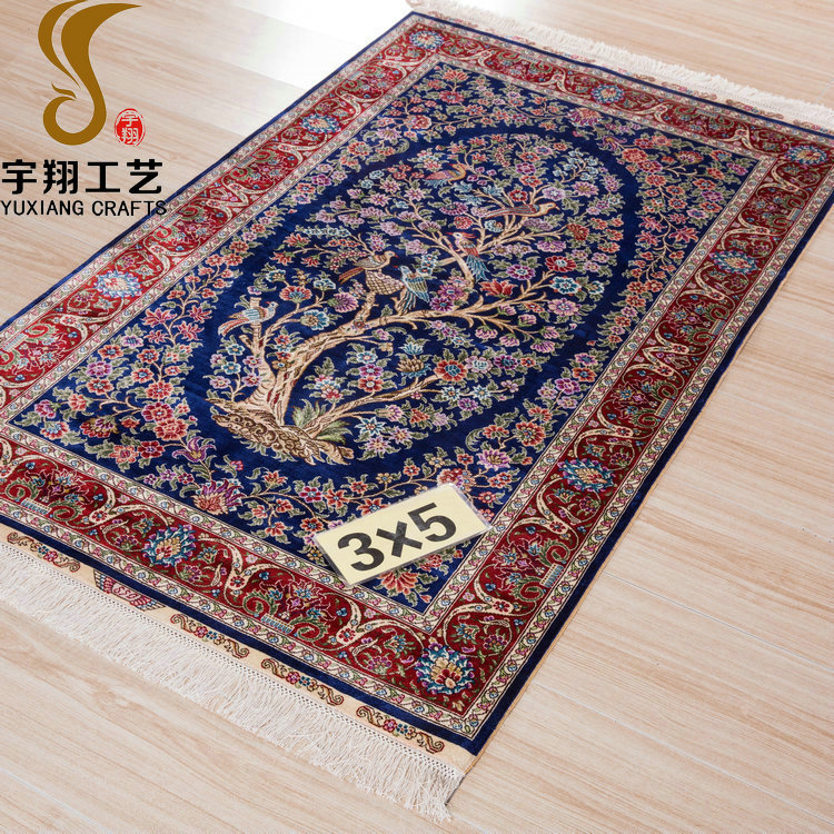 yuxiang factory price persian needle handmade rug wholesale for home decorative,living room,musilim prayer,hotel