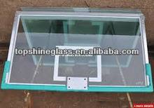 10mm tempered glass backboard with AS/NZS2208,BS6206,EN12150