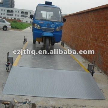Mobile truck scales 100t