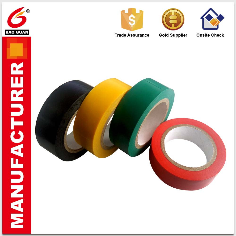 Insulation for various resistance parts Easily torn apart PVC Electrical Tape For protection
