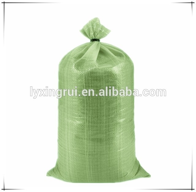 Anti-uv pp 50kg construction sand bag waterproof for flood
