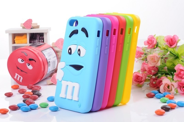 4.7 bulk 3d silicone cell phone case for young man