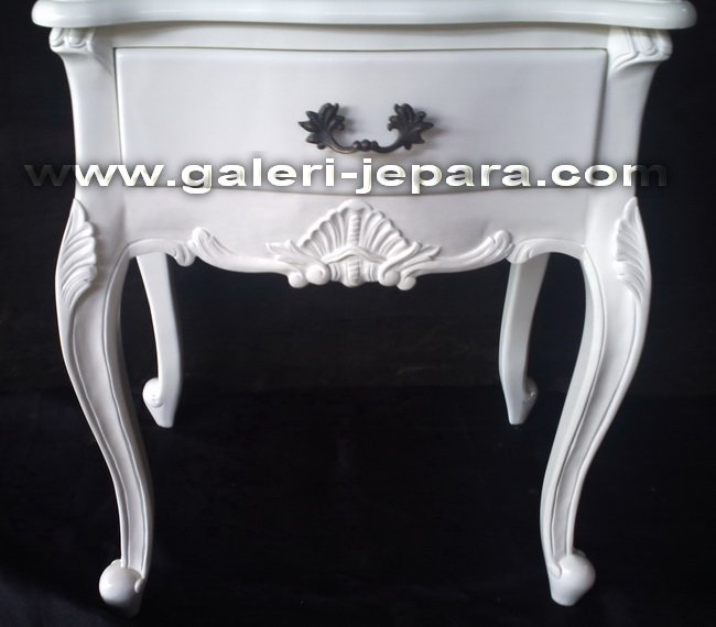 Side Table for Interior Bedroom Hotel - Furniture 1 Drawer Bedside