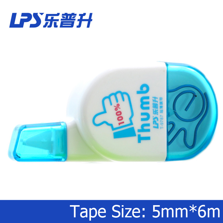 China Manufacturer Correction Tape Pattern of Oval Correction TapeT-9787
