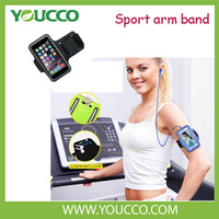 Portable neoprene sport arm leather case for armband Arm bag