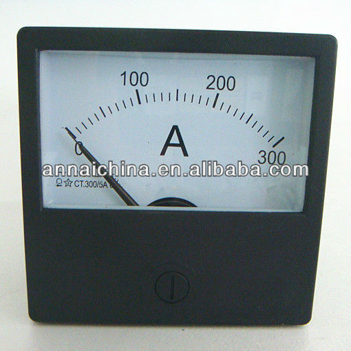 Moving Coil Analog Panel Meters