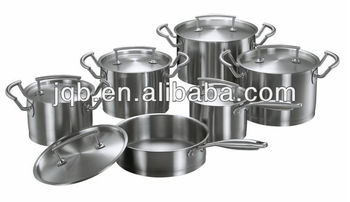 Happy Baron Stainless Steel Capsule Bottom Cookware Set