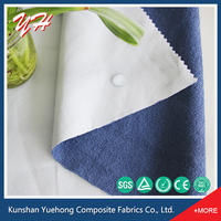Eco friendly Terry Fabric Laminated TPU Waterproof Terry Fabric