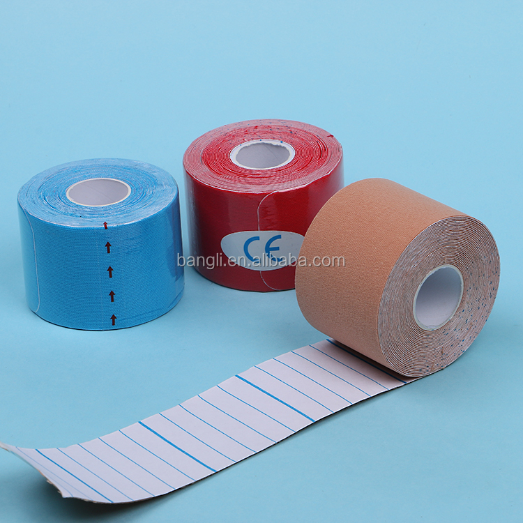 Waterproof Muscle Sport Printed Precut K Tape kinesiology tape for athletes