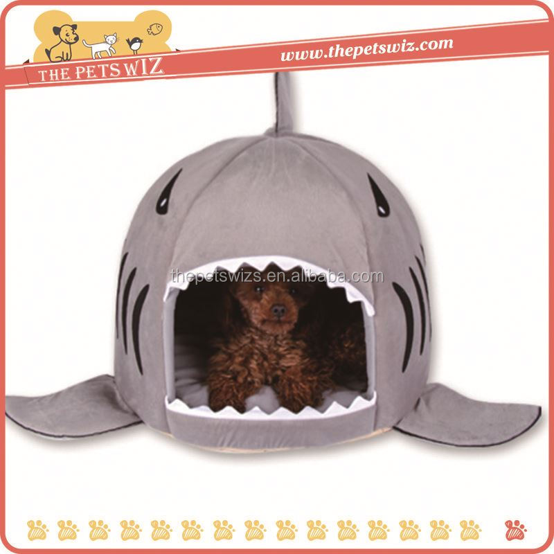 Pet products shark pet bed ,CC328 memory foam decorative dog bed